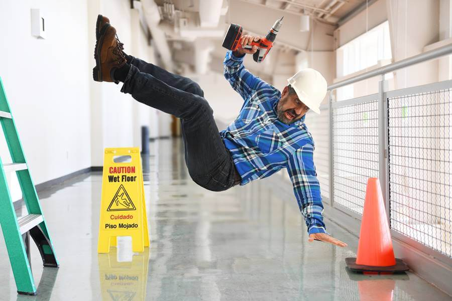 Construction Injury Falls