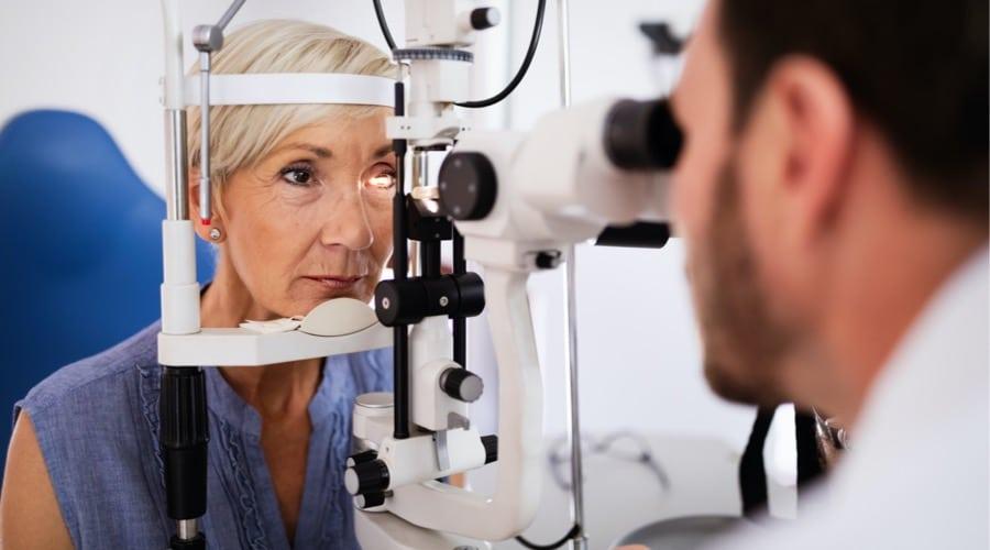 annual eye exam visit