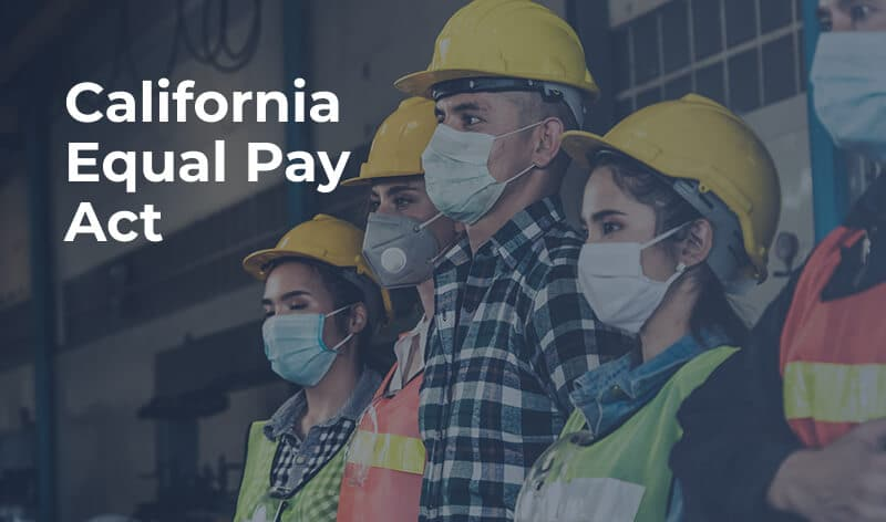 California equal pay act